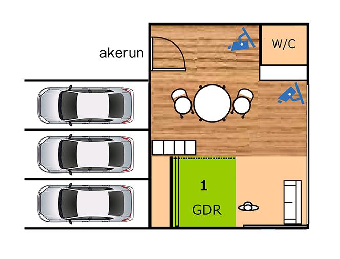 1打席設置イメージ図